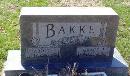 BAKKE, HAROLD R. - Minnehaha County, South Dakota | HAROLD R. BAKKE - South Dakota Gravestone Photos