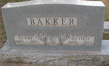 BAKKER, OTTILIE - Minnehaha County, South Dakota | OTTILIE BAKKER - South Dakota Gravestone Photos