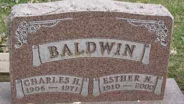 BALDWIN, CHARLES H. - Minnehaha County, South Dakota | CHARLES H. BALDWIN - South Dakota Gravestone Photos