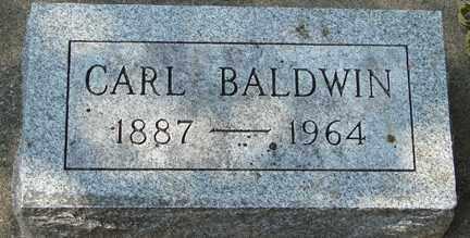 BALDWIN, CARL - Minnehaha County, South Dakota | CARL BALDWIN - South Dakota Gravestone Photos