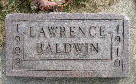 BALDWIN, LAWRENCE - Minnehaha County, South Dakota | LAWRENCE BALDWIN - South Dakota Gravestone Photos