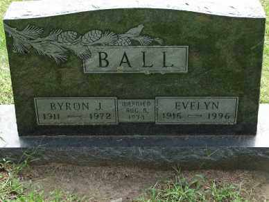 BALL, EVELYN - Minnehaha County, South Dakota | EVELYN BALL - South Dakota Gravestone Photos