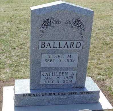 BALLARD, KATHLEEN ANN - Minnehaha County, South Dakota | KATHLEEN ANN BALLARD - South Dakota Gravestone Photos