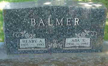 BALMER, ADA S. - Minnehaha County, South Dakota | ADA S. BALMER - South Dakota Gravestone Photos