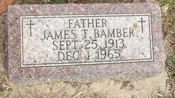 BAMBER, JAMES T. - Minnehaha County, South Dakota   JAMES T. BAMBER - South Dakota Gravestone Photos