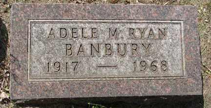 BANBURY, ADELE M. - Minnehaha County, South Dakota | ADELE M. BANBURY - South Dakota Gravestone Photos