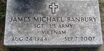 BANBURY, JAMES MICHAEL - Minnehaha County, South Dakota   JAMES MICHAEL BANBURY - South Dakota Gravestone Photos