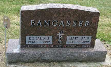 BANGASSER, MARY ANN - Minnehaha County, South Dakota   MARY ANN BANGASSER - South Dakota Gravestone Photos