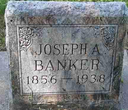 BANKER, JOSEPH A. - Minnehaha County, South Dakota   JOSEPH A. BANKER - South Dakota Gravestone Photos