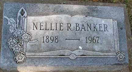 BANKER, NELLIE R. - Minnehaha County, South Dakota | NELLIE R. BANKER - South Dakota Gravestone Photos