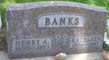 BANKS, HENRY A. - Minnehaha County, South Dakota | HENRY A. BANKS - South Dakota Gravestone Photos