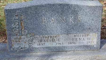 BANKS, ERNA H. - Minnehaha County, South Dakota | ERNA H. BANKS - South Dakota Gravestone Photos