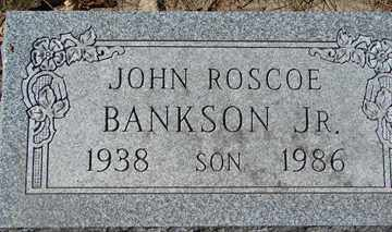 BANKSON, JOHN ROSCOE JR. - Minnehaha County, South Dakota | JOHN ROSCOE JR. BANKSON - South Dakota Gravestone Photos