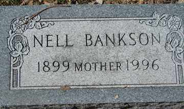 BANKSON, NELL - Minnehaha County, South Dakota | NELL BANKSON - South Dakota Gravestone Photos