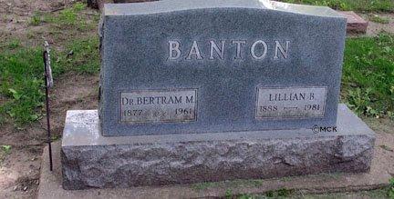 BANTON, LILLIAN B. - Minnehaha County, South Dakota | LILLIAN B. BANTON - South Dakota Gravestone Photos