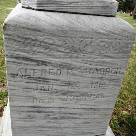 BARBER, ALFRED P. - Minnehaha County, South Dakota | ALFRED P. BARBER - South Dakota Gravestone Photos