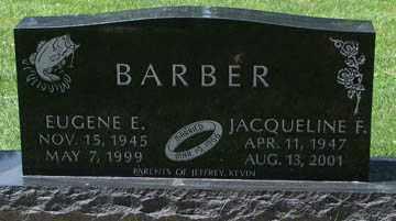 BARBER, EUGENE E. - Minnehaha County, South Dakota | EUGENE E. BARBER - South Dakota Gravestone Photos