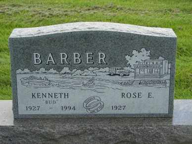 BARBER, KENNETH - Minnehaha County, South Dakota | KENNETH BARBER - South Dakota Gravestone Photos