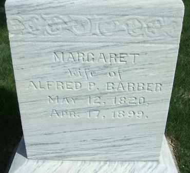 BARBER, MARGARET - Minnehaha County, South Dakota | MARGARET BARBER - South Dakota Gravestone Photos