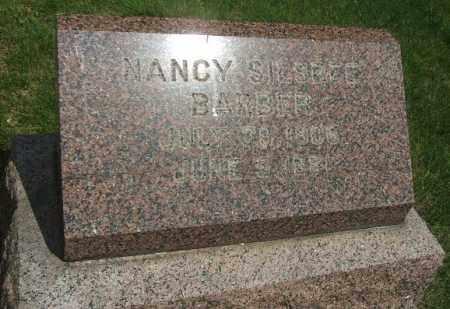 BARBER, NANCY - Minnehaha County, South Dakota | NANCY BARBER - South Dakota Gravestone Photos