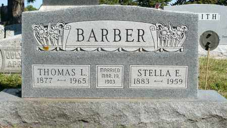 BARBER, STELLA E. - Minnehaha County, South Dakota | STELLA E. BARBER - South Dakota Gravestone Photos
