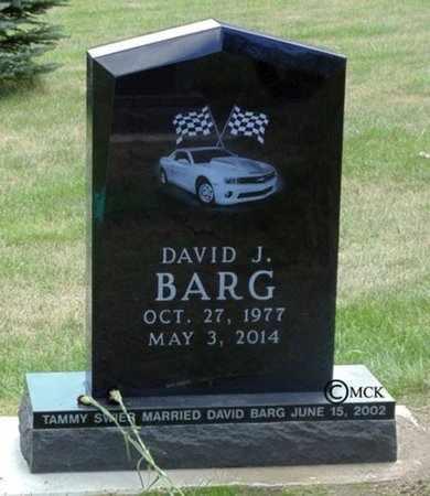 BARG, DAVID J. - Minnehaha County, South Dakota | DAVID J. BARG - South Dakota Gravestone Photos