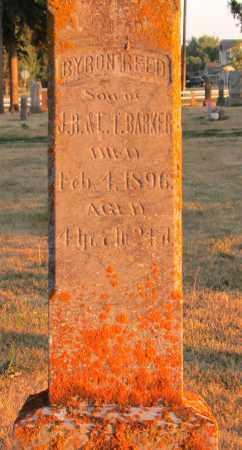 BARKER, BYRON REED - Minnehaha County, South Dakota | BYRON REED BARKER - South Dakota Gravestone Photos