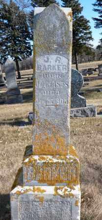 BARKER, J.R. - Minnehaha County, South Dakota | J.R. BARKER - South Dakota Gravestone Photos