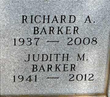 BARKER, JUDITH M. - Minnehaha County, South Dakota | JUDITH M. BARKER - South Dakota Gravestone Photos