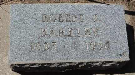 BARKLEY, ROBERT S. - Minnehaha County, South Dakota   ROBERT S. BARKLEY - South Dakota Gravestone Photos