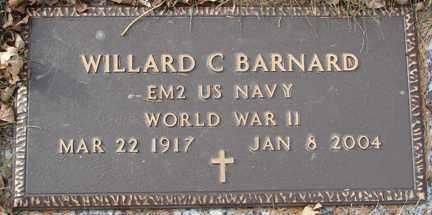 BARNARD, WILLARD C. (WWII) - Minnehaha County, South Dakota | WILLARD C. (WWII) BARNARD - South Dakota Gravestone Photos