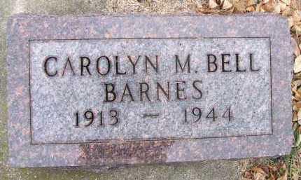BARNES, CAROLYN M. - Minnehaha County, South Dakota   CAROLYN M. BARNES - South Dakota Gravestone Photos