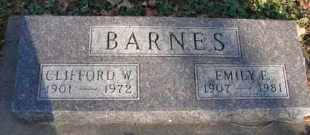BARNES, EMILY E. - Minnehaha County, South Dakota | EMILY E. BARNES - South Dakota Gravestone Photos