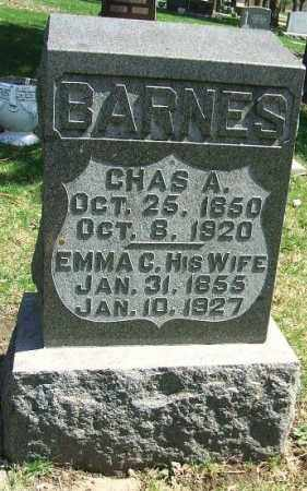 BARNES, EMMA C. - Minnehaha County, South Dakota | EMMA C. BARNES - South Dakota Gravestone Photos