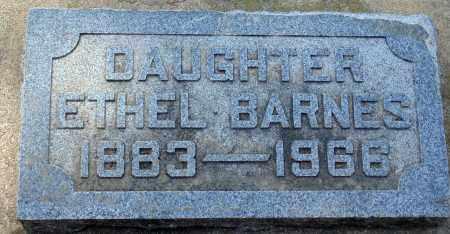 BARNES, ETHEL - Minnehaha County, South Dakota | ETHEL BARNES - South Dakota Gravestone Photos