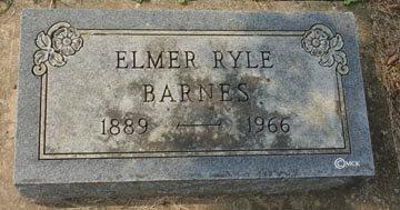 BARNES, ELMER RYLE - Minnehaha County, South Dakota | ELMER RYLE BARNES - South Dakota Gravestone Photos