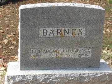 BARNES, FRED VERNON - Minnehaha County, South Dakota | FRED VERNON BARNES - South Dakota Gravestone Photos