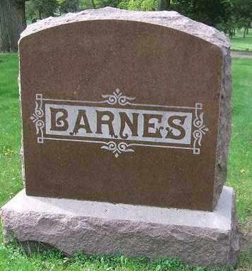 BARNES, FAMILY STONE - Minnehaha County, South Dakota   FAMILY STONE BARNES - South Dakota Gravestone Photos