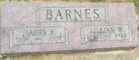 BARNES, HARRY E. - Minnehaha County, South Dakota | HARRY E. BARNES - South Dakota Gravestone Photos