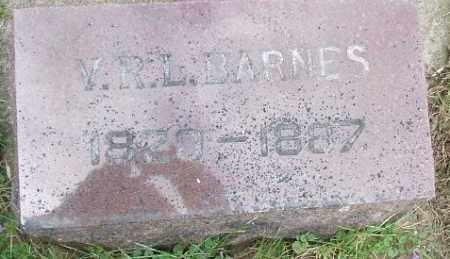 BARNES, VAN RENSSELAER LAFAYETTE - Minnehaha County, South Dakota   VAN RENSSELAER LAFAYETTE BARNES - South Dakota Gravestone Photos