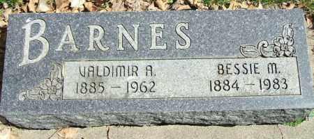 BARNES, VALDIMIR A. - Minnehaha County, South Dakota | VALDIMIR A. BARNES - South Dakota Gravestone Photos