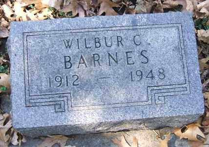 BARNES, WILBUR C. - Minnehaha County, South Dakota   WILBUR C. BARNES - South Dakota Gravestone Photos