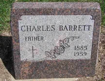 BARRETT, CHARLES - Minnehaha County, South Dakota | CHARLES BARRETT - South Dakota Gravestone Photos