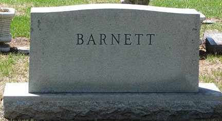 BARNETT, FAMILY HEADSTONE - Minnehaha County, South Dakota | FAMILY HEADSTONE BARNETT - South Dakota Gravestone Photos