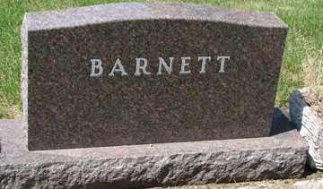 BARNETT, FAMILY HEADSTONE - Minnehaha County, South Dakota   FAMILY HEADSTONE BARNETT - South Dakota Gravestone Photos