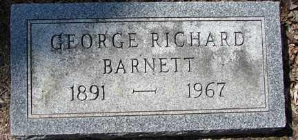 BARNETT, GEORGE RICHARD - Minnehaha County, South Dakota | GEORGE RICHARD BARNETT - South Dakota Gravestone Photos