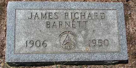 BARNETT, JAMES RICHARD - Minnehaha County, South Dakota | JAMES RICHARD BARNETT - South Dakota Gravestone Photos