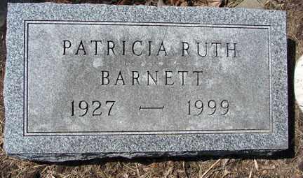 BARNETT, PATRICIA RUTH - Minnehaha County, South Dakota   PATRICIA RUTH BARNETT - South Dakota Gravestone Photos