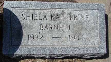 BARNETT, SHIELA KATHERINE - Minnehaha County, South Dakota | SHIELA KATHERINE BARNETT - South Dakota Gravestone Photos