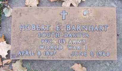 BARNHART, HOBERT E. - Minnehaha County, South Dakota   HOBERT E. BARNHART - South Dakota Gravestone Photos
